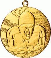 MMC1640/G - Medaila plávanie (pr.40 mm, hr.2 mm) zlato