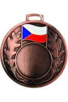 Medaila (pr.50mm) ČR bronz