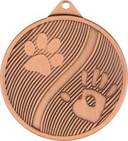 MMC20050/B - Medaila psy (pr.50 mm, hr.2 mm) bronz