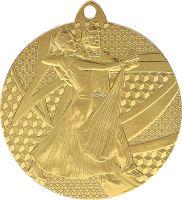 MMC7850/G - Medaila tanec (pr.50 mm, hr.2 mm) zlato
