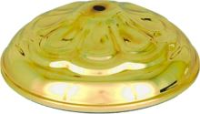 431-260/6 - Kryt na poháre zlatý 26cm