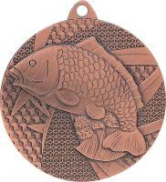 MMC7950/B - Medaila rybárstvo (pr.50 mm, hr.2 mm) bronz