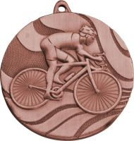 MMC5350/B - Medaila cyklistika (pr.50 mm, hr.3 mm) bronz